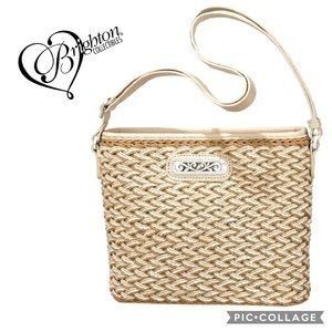 Brighton Straw Emme shoulder bag